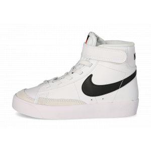 Nike Blazer Mid '77 Enfant Blanche Et Noire  Baskets