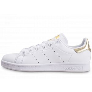 adidas Stan Smith Blanc Or Femme  Tennis