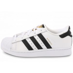 adidas Superstar Foundation Noir Et Blanc Enfant Baskets Enfant