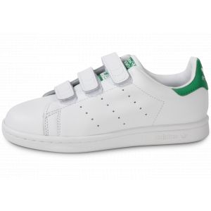adidas Stan Smith Scratch Verte & Blanche Enfant 32 Tennis