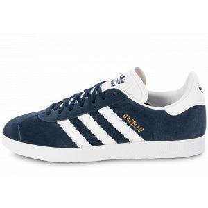 adidas Homme Gazelle Bleu Marine Et Blanche Baskets