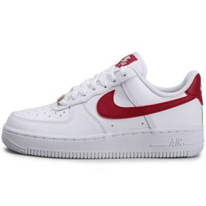 Nike Air Force 1'07 Blanc Bordeaux Femme 38 Baskets