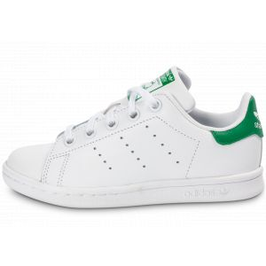 adidas Stan Smith Enfant Blanc Vert Baskets/Tennis Enfant