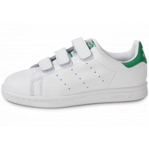 adidas Stan Smith Scratch Verte & Blanche Enfant 30 Tennis