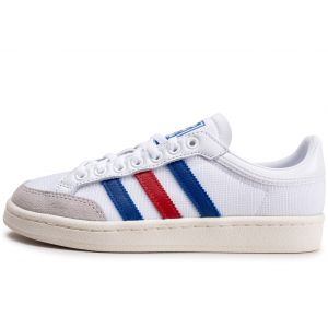 adidas Americana Low Blanc Bleu Rouge Femme  Baskets