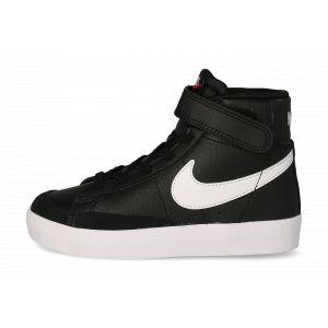 Nike Blazer Mid'77 Enfant Noire Et Blanche  Baskets