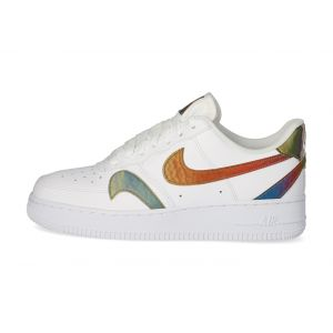 Nike Homme Air Force 1'07 Lv8 Multi Swoosh Blanche Baskets