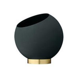 Coupe Globe / Ø 21 cm - Métal - AYTM or,vert forêt en métal