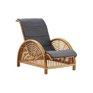 Coussin / Pour fauteuil Paris - Sika Design gris anthracite en tissu