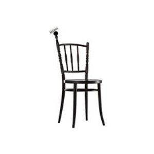 Accessoire porte-carte interchangeable pour chaise Extension chair - Moooi noir en bois