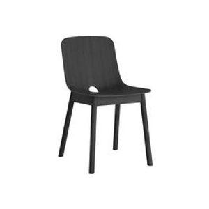 Chaise Mono / Chêne - Woud noir en bois