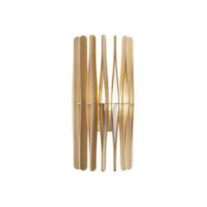 Applique Stick / H 65 cm - Fabbian bois clair en bois