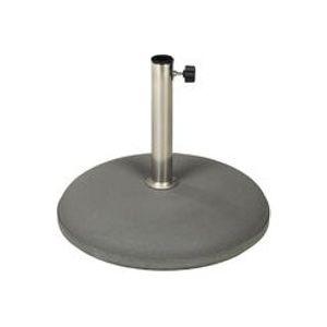 Pied de parasol en béton / Ø 49 cm - Vlaemynck anthracite en pierre