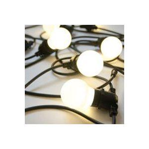 Ampoule LED E27 / 0,48W - Pour  guirlande Bella Vista - Seletti blanc en métal