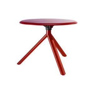 Table basse Miura - Plank rouge en métal