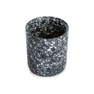 Pot Terrazzo / Small - XL Boom noir en pierre