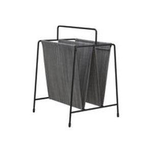 Porte-revues /Réédition 50 ' - Tissu - Fritz Hansen gris,noir en tissu
