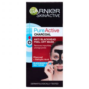 Garnier Pure Active Anti Blackhead Charcoal Peel Off Face Mask