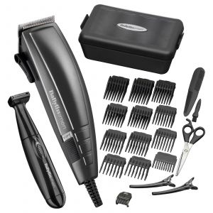 Kit tondeuse 22pièces Home Hair Cutting Kit BaByliss for Men - Prise Anglaise