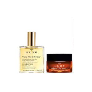 NUXE Huile Prodigieuse Oil and Lip Balm Duo