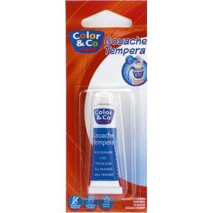 Tube de gouache - COLOR&CO - 10ml - Bleu Primaire