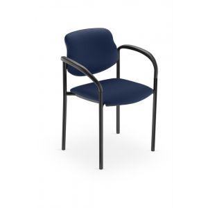 Chaise visiteur - STYL ARM - Bleu