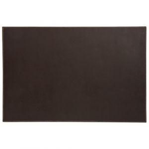 Sous main plaque Elyane - SIGN OFFICE - 40x60 cm - Brun