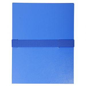 Lot de 10 chemises extensibles Balacron sans rabat - 24 x 32 cm - EXACOMPTA - Bleu - 2642E