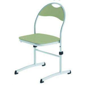 Chaise réglable - LISE - Taille 2 - Blanche - Hetre