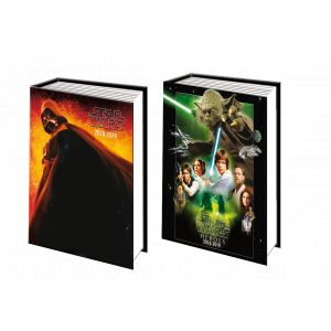 Agenda scolaire journalier - STAR WARS - 12 x 17 cm