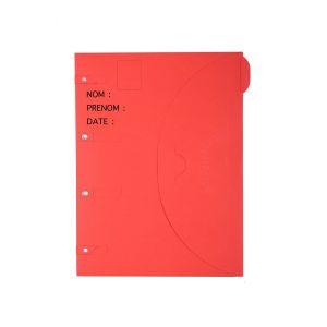 Chemise dossier photo 24x32 cm - SMART FOLDER - Rouge