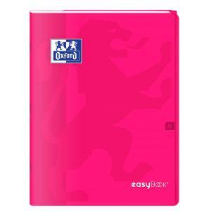 Cahier agrafé Easybook - OXFORD - 96 pages - Grands carreaux Séyès - 24 x 32 cm