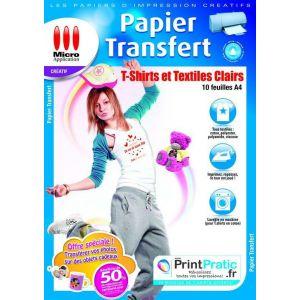 Feuilles de transfert comparer 288 offres - Papier transfert pour textile ...
