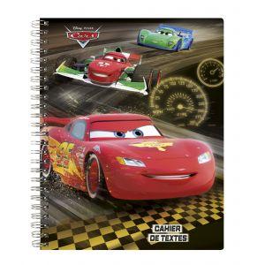 Cahier de texte à spirales - CARS - 17x22 cm