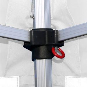 Barnum pliant 3x6m Pack complet Alu 40 polyester 300g/m² pelliculé PVC