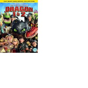 How To Train Your Dragon/ How To Train Your Dragon 2 - 2018 Artwork Refresh