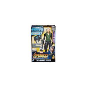 Figurine Black Widow Hasbro Marvel Avengers Infinity War Titan Heroes Power FX