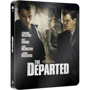 The Departed- Zavvi Exclusive Limited Edition Steelbook (Ultra Limited Print Run)