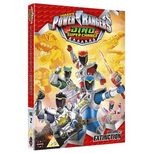 Power Rangers Dino Super Charge: Vol 2 - Extinction (Episodes 11-20)