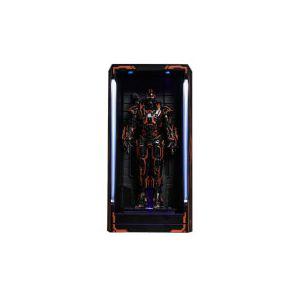 Salle des Armures Neon Tech War Machine - Iron Man 2 MMS Compact Series Diorama 12cm - Hot Toys