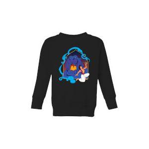 Disney Aladdin Cave Of Wonders Kids' Sweatshirt - Black - 7-8 ans - Noir