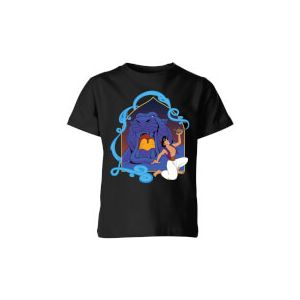 Disney Aladdin Cave Of Wonders Kids' T-Shirt - Black - 7-8 ans - Noir