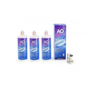 Aosept Plus 3X360ML
