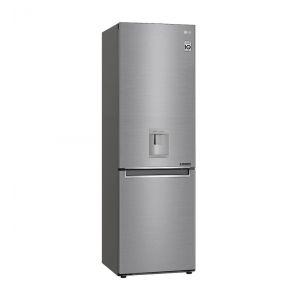 LG gbf61pzjzn Réfrigérateur combiné 60cm 336l a++ no frost inox