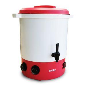 ROBBY steri one Stérilisateur électrique avec robinet et minuteur 28l 2100w plastique