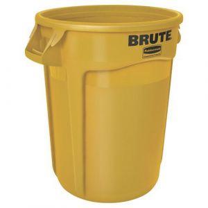 Conteneur Brute 121L avec aération- jaune,