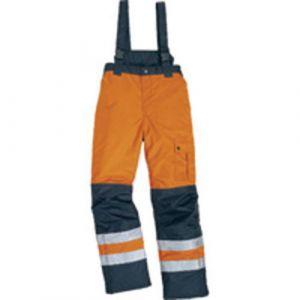 Pantalon Fargo orange/bleu L,