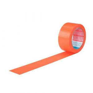 Tesa 6 Ruban Adhésif Pvc Orange Pour Bâtiment - 4843 - Tesa