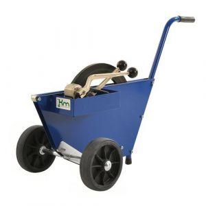 Chariot À Bobine De Cerclage L990xl460xh640 Mm Bleu