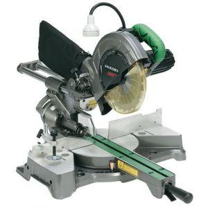 Scie radiale à coupe d'onglet ø216mm 1050w + laser & led,